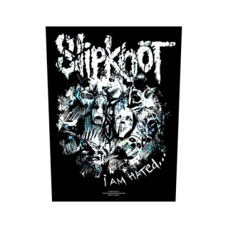 SLIPKNOT I am Hated, バックパッチ<img class='new_mark_img2' src='https://img.shop-pro.jp/img/new/icons5.gif' style='border:none;display:inline;margin:0px;padding:0px;width:auto;' />