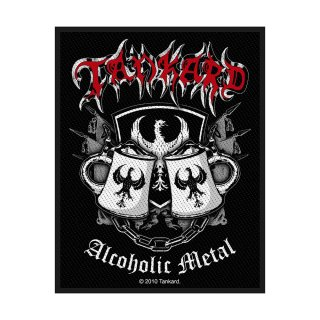 TANKARD Alcoholic Metal, パッチ<img class='new_mark_img2' src='https://img.shop-pro.jp/img/new/icons5.gif' style='border:none;display:inline;margin:0px;padding:0px;width:auto;' />