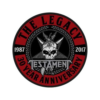 TESTAMENT The Legacy 30 Year Anniversary, パッチ<img class='new_mark_img2' src='https://img.shop-pro.jp/img/new/icons5.gif' style='border:none;display:inline;margin:0px;padding:0px;width:auto;' />