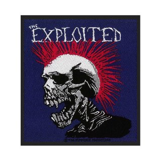 THE EXPLOITED Mohican, パッチ<img class='new_mark_img2' src='https://img.shop-pro.jp/img/new/icons5.gif' style='border:none;display:inline;margin:0px;padding:0px;width:auto;' />