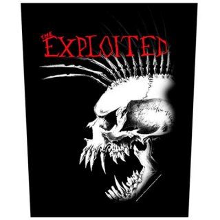 THE EXPLOITED Bastard Skull, バックパッチ<img class='new_mark_img2' src='https://img.shop-pro.jp/img/new/icons5.gif' style='border:none;display:inline;margin:0px;padding:0px;width:auto;' />