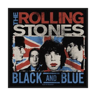 THE ROLLING STONES Black & Blue, パッチ<img class='new_mark_img2' src='https://img.shop-pro.jp/img/new/icons5.gif' style='border:none;display:inline;margin:0px;padding:0px;width:auto;' />