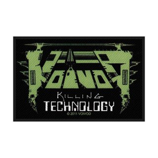 VOIVOD Killing Technology, パッチ<img class='new_mark_img2' src='https://img.shop-pro.jp/img/new/icons5.gif' style='border:none;display:inline;margin:0px;padding:0px;width:auto;' />