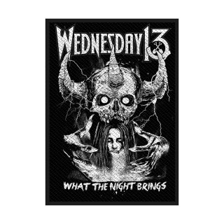 WEDNESDAY 13 What the Night Brings, パッチ<img class='new_mark_img2' src='https://img.shop-pro.jp/img/new/icons5.gif' style='border:none;display:inline;margin:0px;padding:0px;width:auto;' />
