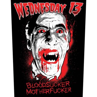 WEDNESDAY 13 Bloodsucker, バックパッチ<img class='new_mark_img2' src='https://img.shop-pro.jp/img/new/icons5.gif' style='border:none;display:inline;margin:0px;padding:0px;width:auto;' />
