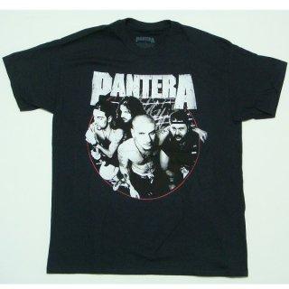 PANTERA Distressed Circle, Tシャツ