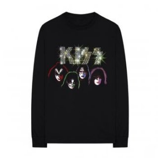 KISS Faux Embellished, ロングTシャツ