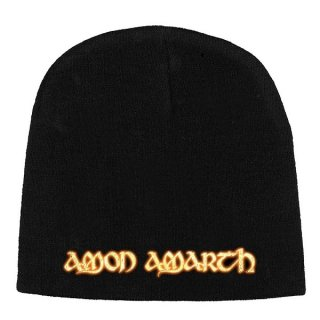 AMON AMARTH Gold Logo, ニットキャップ