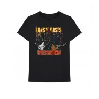 GUNS N' ROSES Appetite For Destruction, Tシャツ
