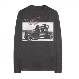 AEROSMITH Truck Photo, ロングTシャツ