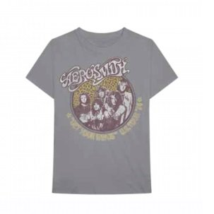AEROSMITH Cheetah Print, Tシャツ