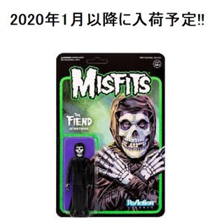 MISFITS The Fiend Midnight Black, フィギュア