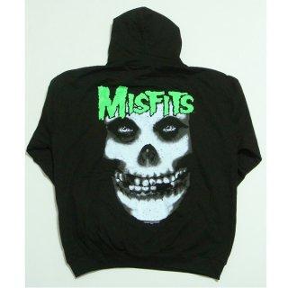 MISFITS Glow Jurek Skull, パーカー