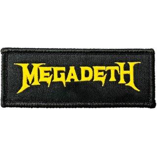 MEGADETH Logo, パッチ