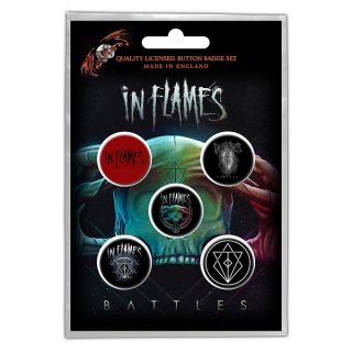IN FLAMES Battles, バッジセット