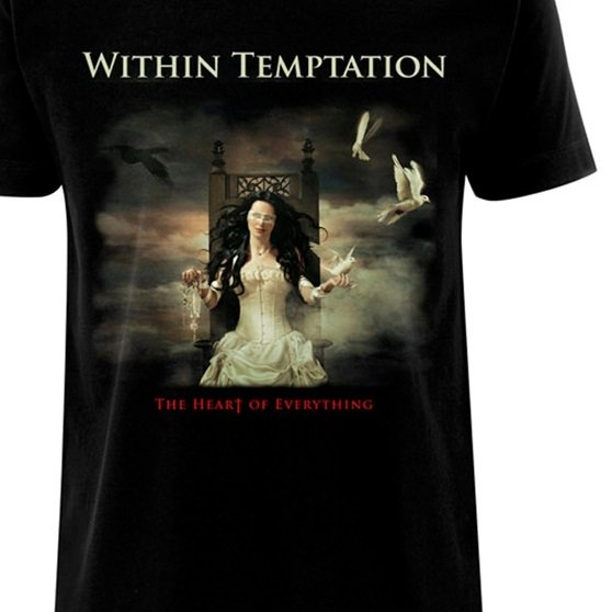 Within Temptation /'Heart Of Everything/' T-Shirt NEW /& OFFICIAL!