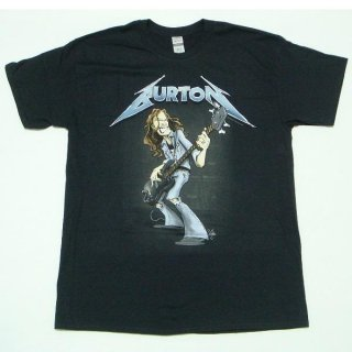 METALLICA Cliff Burton Squindo Stack, Tシャツ