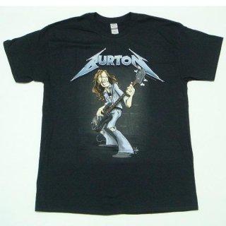 METALLICA Cliff Burton Squindo Stack, Tシャツ