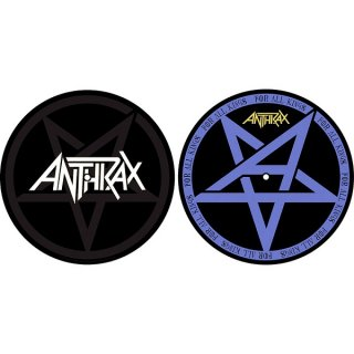 ANTHRAX Pentathrax / For All Kings, スリップマット(2枚入り)