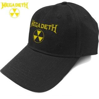 MEGADETH Hazard Logo, キャップ