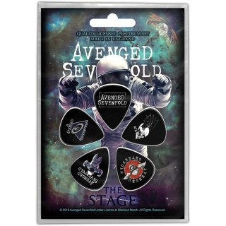 AVENGED SEVENFOLD The Stage, ギターピック(5枚セット)