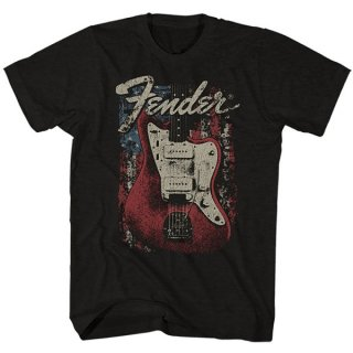 FENDER Distressed Guitar, Tシャツ