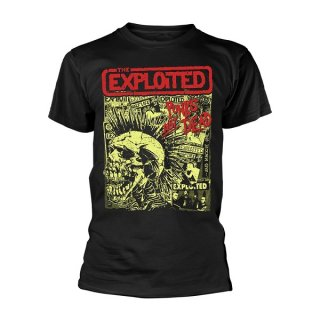THE EXPLOITED Punks Not Dead Blk, Tシャツ