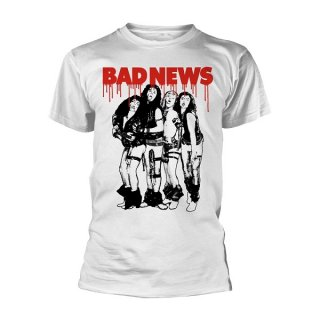 BAD NEWS Band Wht, Tシャツ
