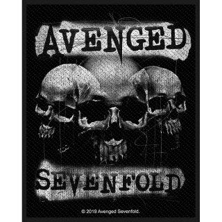 AVENGED SEVENFOLD 3 Skulls, パッチ
