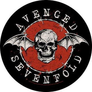 AVENGED SEVENFOLD Distressed Skull, バックパッチ