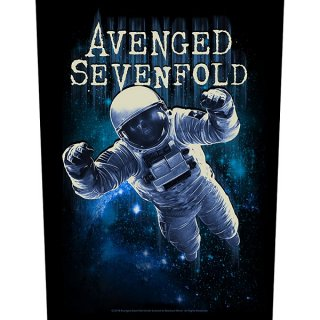 AVENGED SEVENFOLD Astronaut, バックパッチ