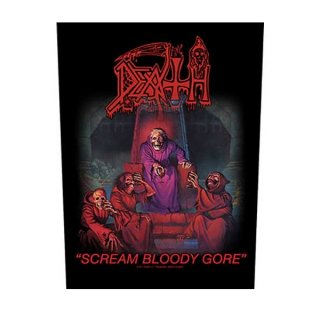 DEATH Scream Bloody Gore, バックパッチ