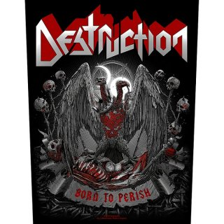 DESTRUCTION Born To Perish, バックパッチ