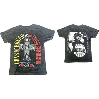 GUNS N' ROSES Appetite Hollywood '91, Tシャツ