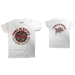 GUNS N' ROSES Use Your Illusion Wht, Tシャツ