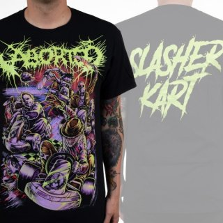 ABORTED Slasher Kart Glow, Tシャツ