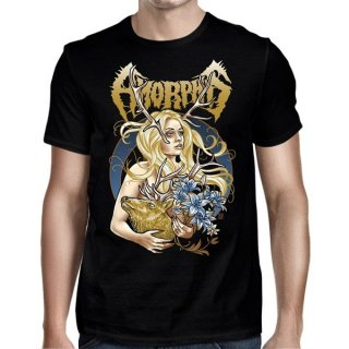 AMORPHIS Golden Elk Girl, Tシャツ
