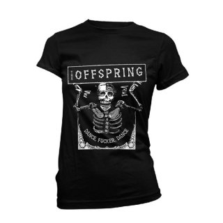 THE OFFSPRING Dance Fucker Dance, レディースTシャツ