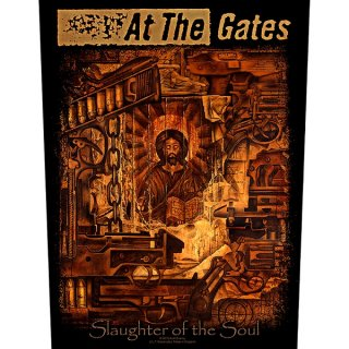 AT THE GATES Slaughter Of The Soul, バックパッチ