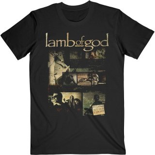 LAMB OF GOD Album Collage, Tシャツ