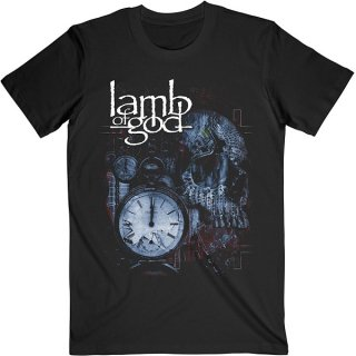 LAMB OF GOD Circuitry Skull Recolor, Tシャツ