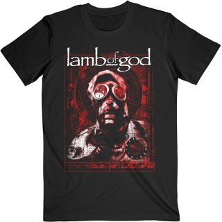 LAMB OF GOD Gas Masks Waves, Tシャツ