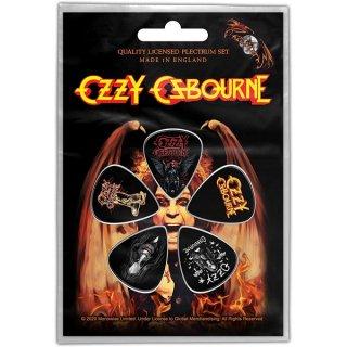 OZZY OSBOURNE Ordinary Man, ギターピック(5枚セット)