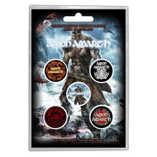 AMON AMARTH Jomsviking, バッジセット