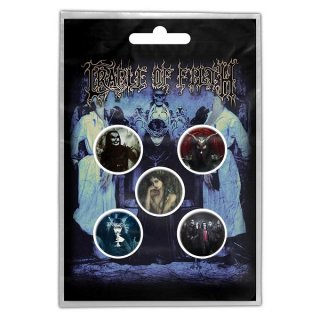 CRADLE OF FILTH Cryptoriana, バッジセット