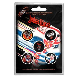 JUDAS PRIEST Turbo, バッジセット