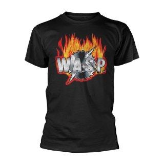 W.A.S.P. Sawblade Logo, Tシャツ