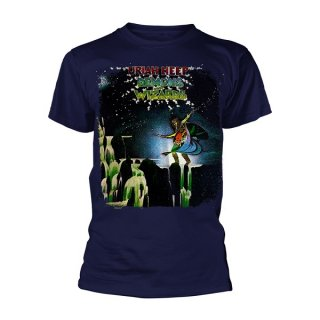 URIAH HEEP Demons And Wizards Navy, Tシャツ