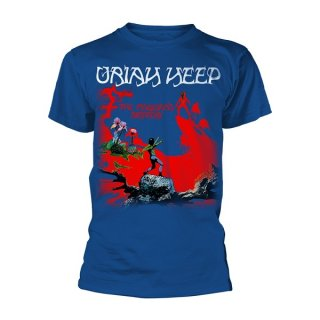 URIAH HEEP The Magicians Birthday Blu, Tシャツ