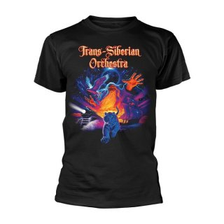 TRANS-SIBERIAN ORCHESTRA Tiger Collage, Tシャツ